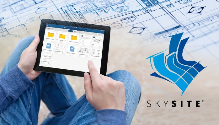 Construction Project Document Management in iPad