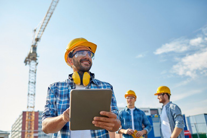 Construction Professionals Using SKYSITE Software For File Management