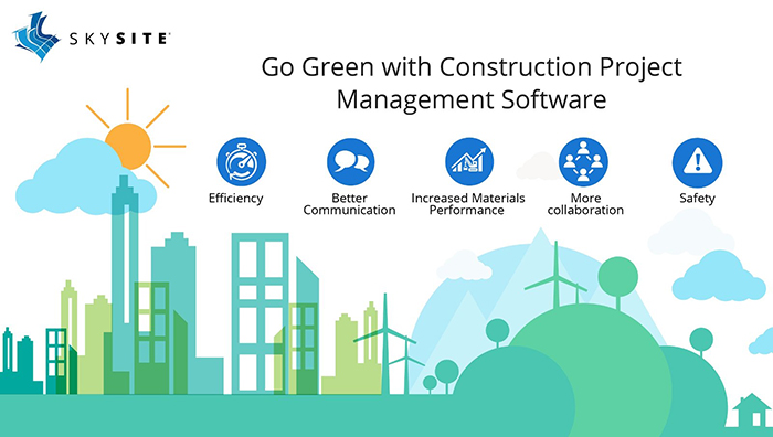 Go Green with Construction Management Software