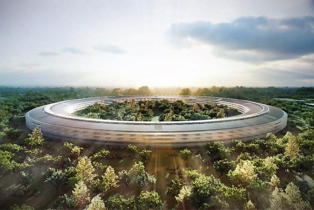 Apple's New 'Spaceship' Campus HQ