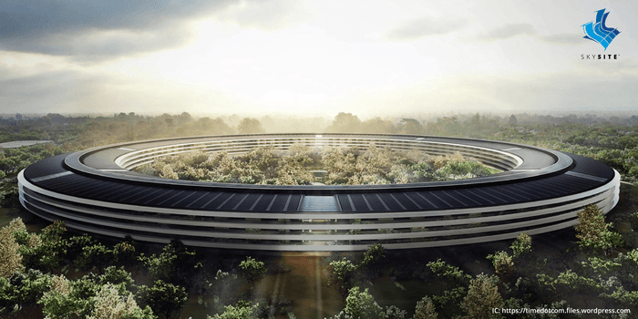 Apple Park is the new headquarter of Apple Located in Cupertino, CA