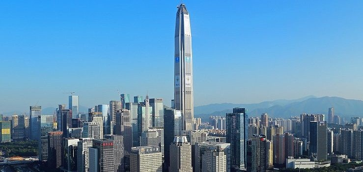 Ping an International Finance Center in Shenzhen